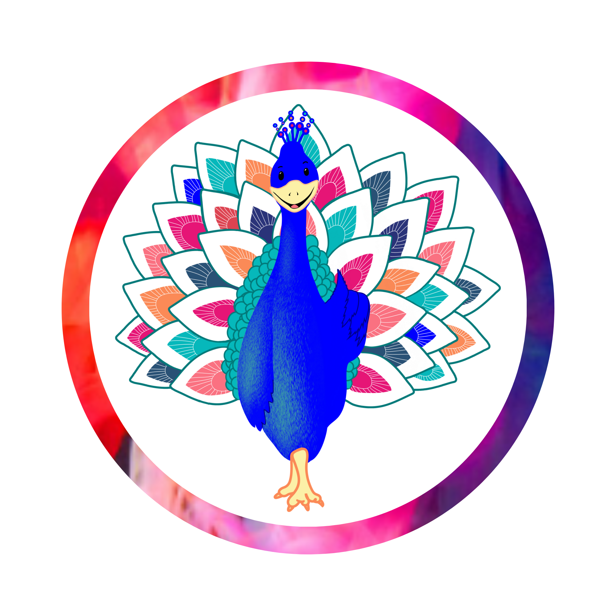Affirmation Cards For Kids - Pax the Peacock